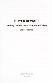 Cover of: Buyer beware | Janet Parshall