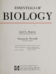 Cover of: Essentials of biology | Janet L. Hopson