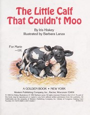 Cover of: The little calf that couldn't moo