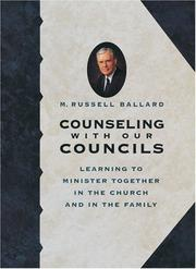 Cover of: Counseling With Our Councils by M. Russell Ballard