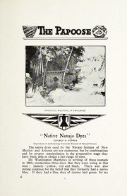 Cover of: Native Navajo dyes