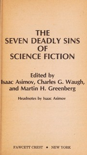 Cover of: The Seven Deadly Sins of Science Fiction