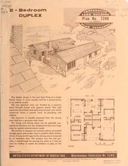 Cover of: 2-bedroom duplex | United States. Agricultural Research Service