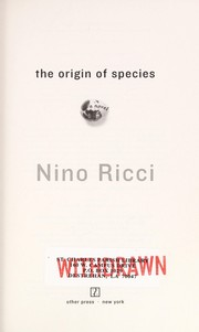 Cover of: The origin of species