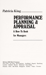 Cover of: Performance planning & appraisal | Patricia King