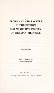 Cover of: Plots and characters in the fiction and narrative poetry of Herman Melville