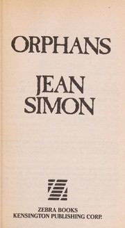 Cover of: Orphans | Jean Simon
