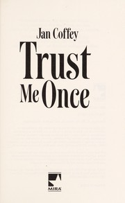 Cover of: Trust Me Once | Jan Coffey