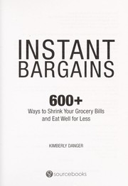 Cover of: Instant bargains | Kimberly Danger