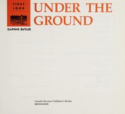 Cover of: First look under the ground