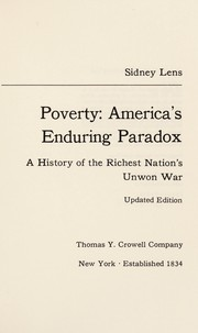 Cover of: Poverty