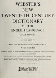 Cover of: Webster's new twentieth century dictionary of the English language, unabridged