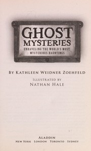 Cover of: Ghost mysteries