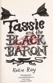 Cover of: Tassie and the Black Baron | Katie Roy