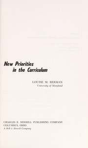Cover of: New priorities in the curriculum. | Louise M. Berman