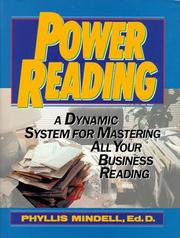 Cover of: Power Reading