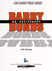 Cover of: Barry Bonds | Jeff Savage