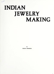 Cover of: Indian jewelry making