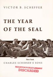Cover of: The year of the seal | Victor B. Scheffer