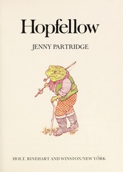 Cover of: Hopfellow | Jenny Partridge