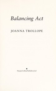 Cover of: Balancing act | Joanna Trollope