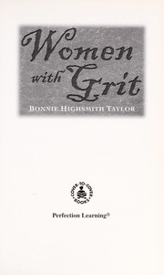 Cover of: Women with grit