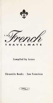 Cover of: The French Travelmate | Lexus