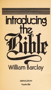 Cover of: Introducing the Bible
