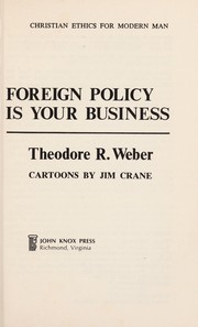 Cover of: Foreign policy is your business