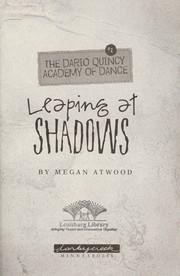 Cover of: Leaping at shadows | Megan Atwood
