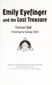 Cover of: Emily Eyefinger and the lost treasure