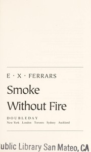 Cover of: Smoke without fire