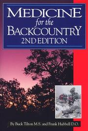 Cover of: Medicine for the backcountry