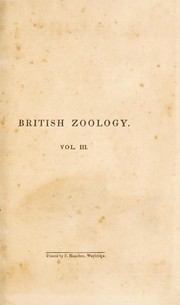 Cover of: The British zoology