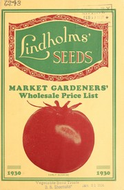 Cover of: Lindholms