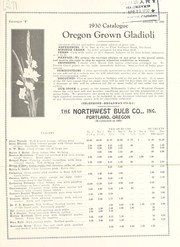 Cover of: 1930 catalogue