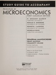 Cover of: Principles of macroeconomics |