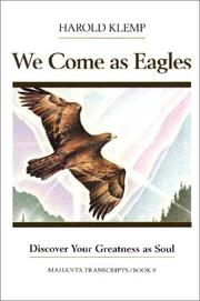 Cover of: We come as eagles
