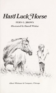 Cover of: Hard luck horse