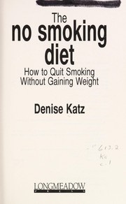 Cover of: The No Smoking Diet
