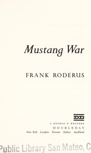 Cover of: Mustang war