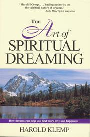 Cover of: The Art Of Spiritual Dreaming
