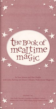 Cover of: The book of mealtime magic