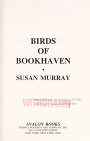 Cover of: Birds of Bookhaven | Susan Murray