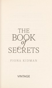 Cover of: The book of secrets