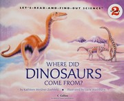Cover of: Where did dinosaurs come from?