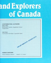 Cover of: Native People and Explorers of Canada (Canadiana Scrapbook Series) | Johnson D. Bethune, D. Conmer