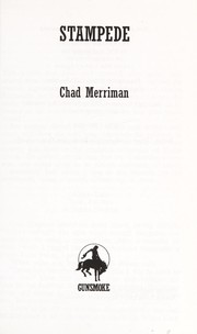 Cover of: Stampede | Chad Merriman
