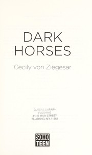 Cover of: Dark horses