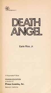 Cover of: Death angel